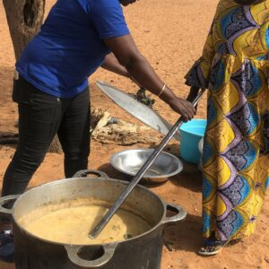 Cuisine d'apprentissage pour les mères